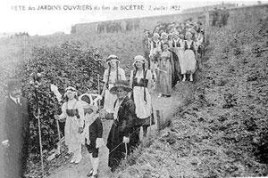 Festa dos jardins operários, 2 de julho de 1922 [DUBOST, Françoise. Op. cit., p. 120-121]