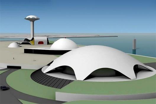 Centro de Convenções, Arquiteto Oscar Niemeyer