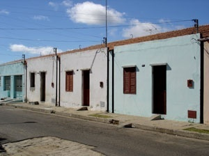 Fachadas de residências N5<br />Foto Neusa Lima