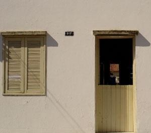 Detalhe de fachada N5<br />Foto Neusa Lima