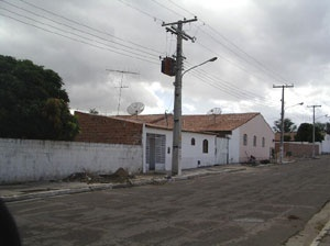 Ruas N-S com modificações <br />Foto Neusa Lima