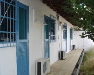 Vista interna de casa N2A <br />Foto Neusa Lima