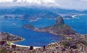 Praia de Botafogo e Pão-de-Açúcar, Rio de Janeiro, Brasil<br />Foto Gabriel Jáuregui