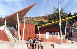 Centro de usos comunitários da favela do Fubá<br />Foto Gabriel Jáuregui