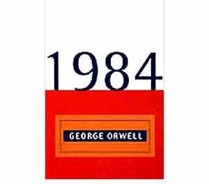 """Capa do livro """"1984"""", de George Orwell, 1949"""