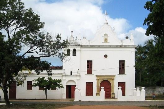 Igreja de Nossa Senhora do Monte, Olinda<br />Foto Eliane Lordello