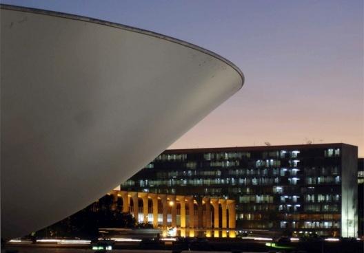 Vista do Palácio do Itamaraty<br />Foto Eduardo Rossetti, 2008