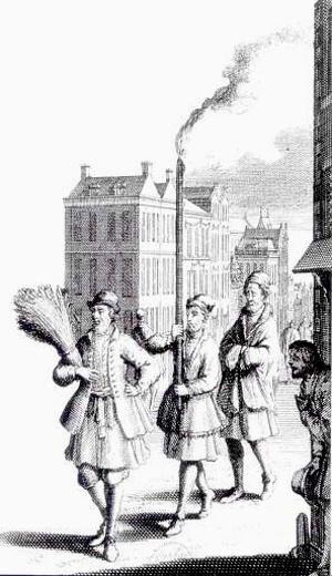 Utopus, o rei da Ilha da Utopia, de Thomas More, portando um feixe de espigas de trigo em lugar do cetro [JEAN, Georges. Op. cit., p. 45]