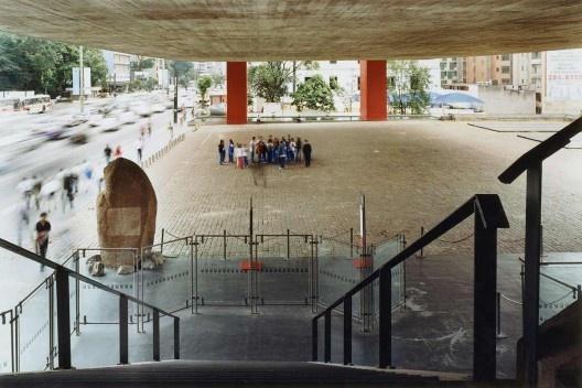 Museu de Arte de São Paulo – Masp, São Paulo. Arquiteta Lina Bo Bardi<br />Foto Nelson Kon