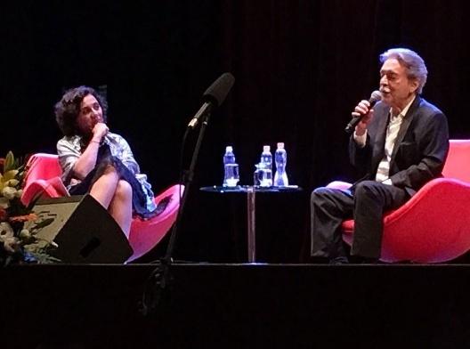Angélica Alvim e Paulo Mendes da Rocha<br />Foto Silvana Romano