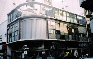 Estado atual do edifício à rua Suipacha<br />Foto do autor