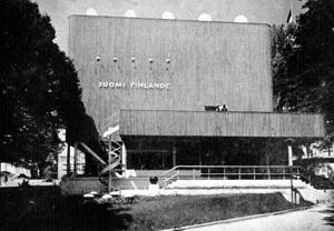 Pavilhão da Feira de Paris (1937), de Alvar Aalto [L'Architecture D'Aujourd'Hui , nº 29, abr. 1950]