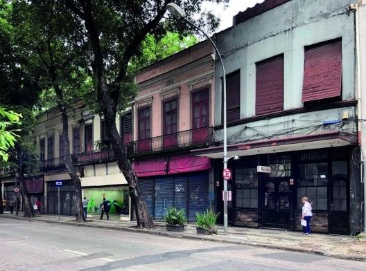 A rua da Carioca em fevereiro de 2020, antes do isolamento social<br />Foto Andréa da Rosa Sampaio