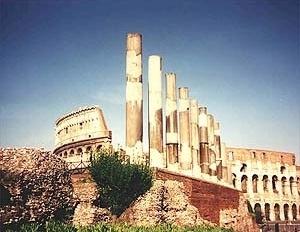 Ruínas italianas: Roma e Veneza <br />Fotos AG