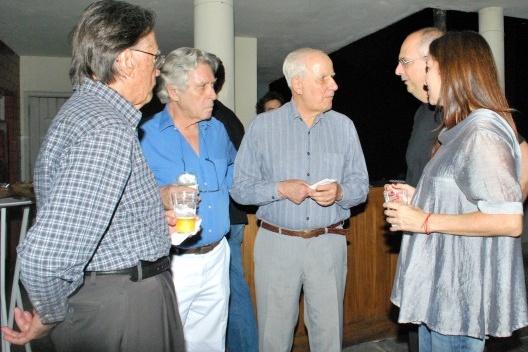 Carlos Lemos, Pedro Paulo de Mello Saraiva, Marcello Fragelli, Abilio Guerra e Silvana Romano Santos<br />Foto Flavio Coddou