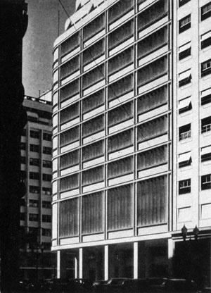 Instituto dos industriários, Rio de Janeiro, 1938-40 [Brazil Builds,  p. 116]