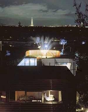 Villa Dall'Ava, Paris, França. Rem Koolhaas [Prêmio Pritzker]