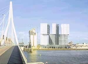 MAB-Tower, Rotterdã, Holanda. Rem Koolhaas [Prêmio Pritzker]