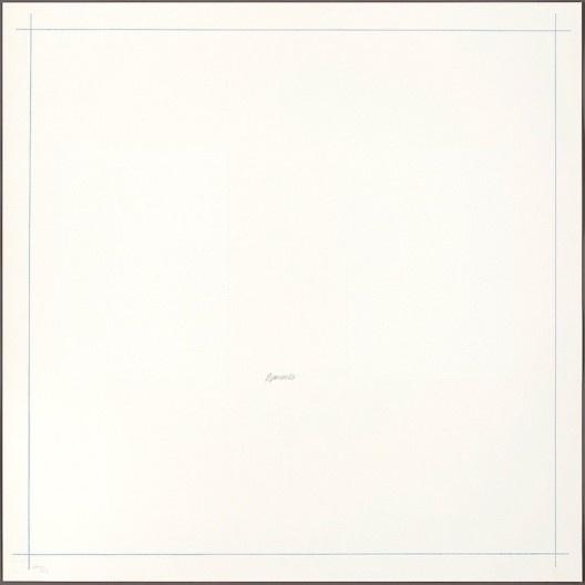 """Robert Ryman, """"Untitled, from On the Bowery"""", 1969, divulgado em 1971<br />Imagem divulgação  [Art Institute Chicago / Cortesia Pace Wildenstein]"""