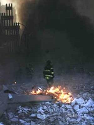 Imagem do atentado ao World Trade Center