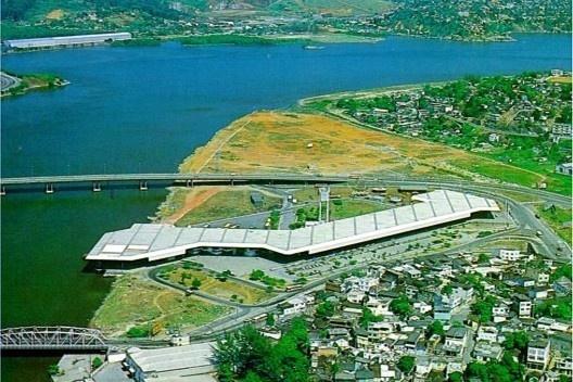 Terminal Rodo-Aquaviário, Vitória – ES, Carlos M. Fayet, Nelson Inda, 1977 [Acervo Fayet]