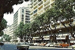 Postal da década de 70 Ed. Palácio do Rádio