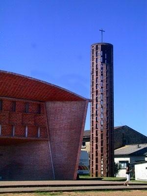 Igreja em Atlântida,Uruguai <br />Foto Abilio Guerra