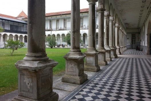 Pátio da escola<br />Foto Gabriela Celani