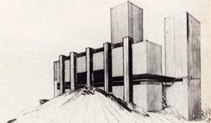 Casa Alta. Arquiteto Sérgio Bernardes, 1959 [Acervo Família Sérgio Bernardes]
