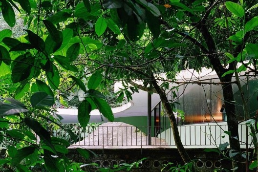 Casa das Canoas, Rio de Janeiro. Arquiteto Oscar Niemeyer<br />Foto Nelson Kon