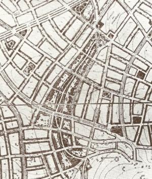 Plano de Stübben para extensão de Chemnitz [RIBA, 1911]