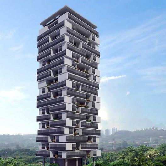Edifício Trezentos e Sessenta Graus, São Paulo. Arquiteto Isay Weinfeld<br />Imagem divulgação  [Website IdeaZarvos]