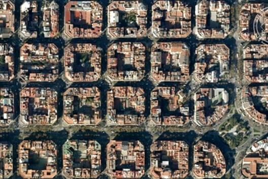 Barcelona, Espanha [Google Earth, 2009]