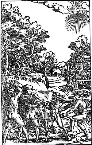 A construção da cabana primitiva, segundo Vitruvius Teutsch