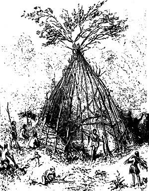 A primeira construção, segundo Viollet-le-Duc
