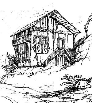Cottage próximo a Altdorf, segundo Ruskin