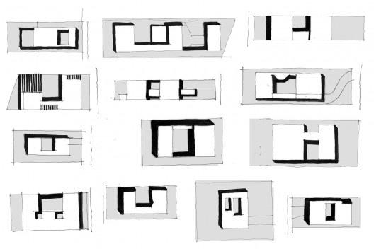 Diagramas das casas em Ribeirão Preto (Ribeirão Preto, SP. 2010); Casa e Salão de beleza em Orlândia (Orlândia, SP. 2007); Casa em Itu (2011); Bacopari (São Paulo-SP. 2010-2012); Rubi (Mogi das Cruzes-SP. 2006);  Yamada (Barueri-SP. 2002); JH (São Paulo-S<br />Marcio Cotrim