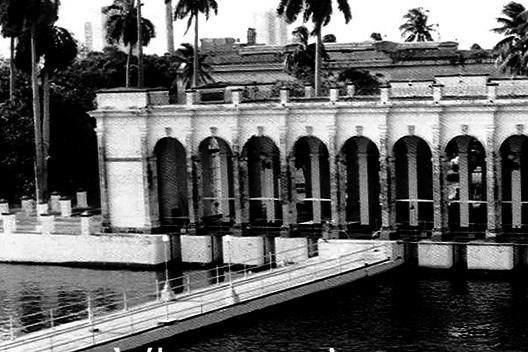 Casa de bombas del acueducto de Albear, construida en 1887 por el ingeniero Francisco de Albear