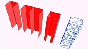 Possibilidades de concepções de núcleos rígidos em concreto armado e metálico