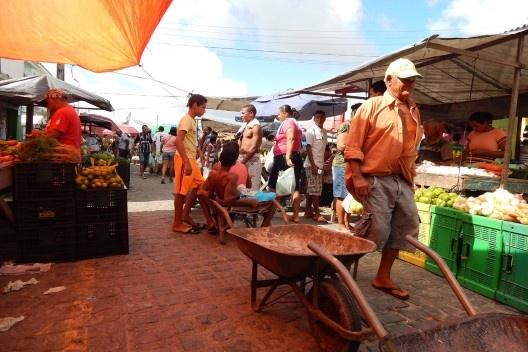 Feira em Maragogi<br />Foto Paula Louise Fernandes  [Acervo Grupo de Pesquisa Estudos da Paisagem]