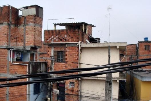 Favela de Vila Prudente. São Paulo<br />Foto Lúcia Kazumi Kurimoto
