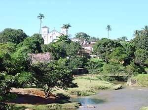 Vista parcial de Pirenópolis GO