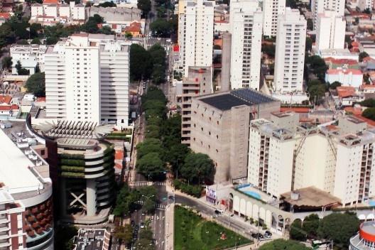 Sesc Pompeia, São Paulo. Arquiteta Lina Bo Bardi<br />Foto Bruno Dias