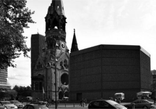Obras projetadas por Egon Eiermann na Alemanha, com a participação de Hans Broos [Arquivo Hans Broos]