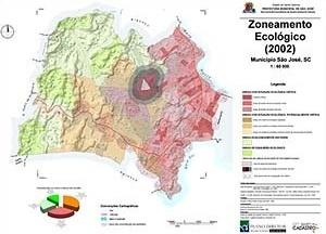 Figura 6 – Mapa do zoneamento ecológico para São José – SC (5)