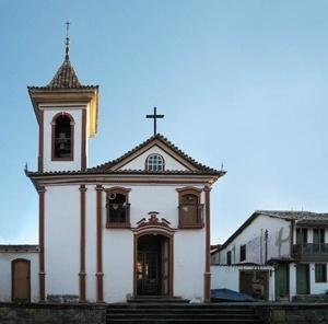 Capela Senhor do Bonfim, Diamantina<br />Foto Victor Hugo Mori
