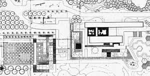 Projeto paisagístico [Escritório Roberto Burle Marx]
