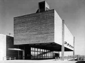 Centro Paroquial São Bonifácio, São Paulo, 1964, arquiteto Hans Broos [Arquivo Hans Broos]