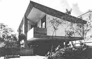 Residência Costa Neto, São Paulo, 1961, arquiteto Joaquim Guedes [Acrópole, fev. 1968, p.24]
