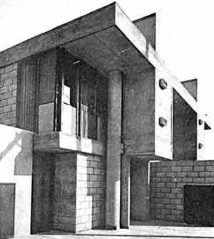 Residência Albertina Pederneiras, São Paulo, 1964, arquiteto Rodrigo Lefèvre [Acrópole, jul. 1965, p.31]